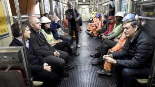 La línea E suma tres nuevas estaciones: Correo Central, Catalinas y Retiro