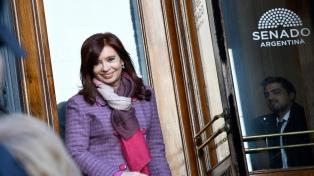 Cristina Kirchner advirtió sobre maniobras en designación de jueces