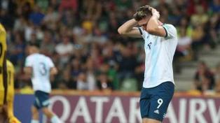 Argentina fue eliminada por penales ante Mali