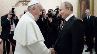 Francisco planteará a Putin su preocupación por la situación en Siria y Ucrania