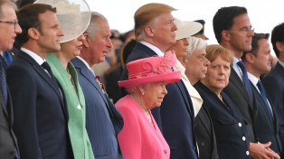 Líderes conmemoraron el desembarco de los aliados en Normandía