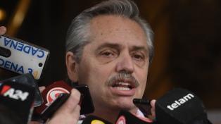"""Alberto Fernández prometió """"desdolarizar las tarifas"""""""