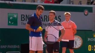 Pella y Schwartzman, eliminados en una de las semifinales de dobles