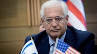 Israel tiene derecho a anexionar parte de Cisjordania, dijo el embajador de EE.UU.
