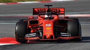 Ferrari dominó los entrenamientos en Hockenheim