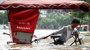 Al menos 18 muertos y 14 desaparecidos por el tifón Lekima