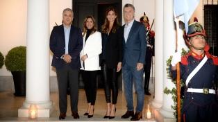 El presidente Macri recibe a su par de Colombia Iván Duque