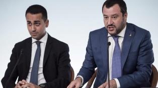 Matteo Salvini y Luigi Di Maio superan la crisis interna
