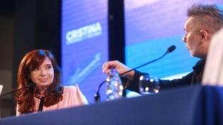 """Cristina Kirchner presenta """"Sinceramente"""" en Rosario"""