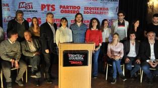 El Frente de Izquierda-Unidad presentará listas en 22 distritos del país