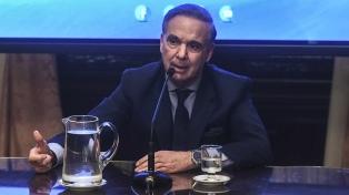 Pichetto debuta en su nueva condición de candidato a vice de Macri