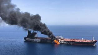 EE.UU. muestra un video con el que busca probar que Irán atacó a los dos barcos petroleros