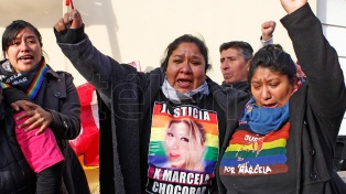 Lo condenan a prisión perpetua por el transfemicidio de Marcela Chocobar