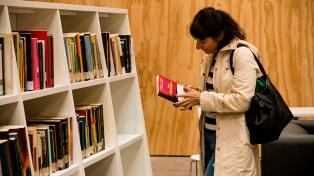 Una nueva biblioteca pública la primera desde 2011, se inaugura en Balvanera