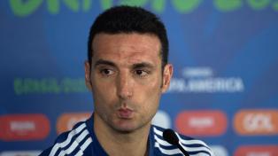 Scaloni admitió cambios en el equipo para enfrentar a Paraguay