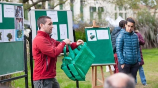 Diseñan un envase ecológico para transportar hortalizas