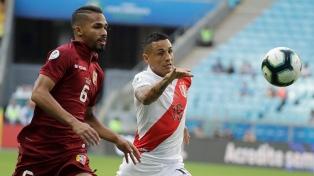 Perú y Venezuela empataron en su debut