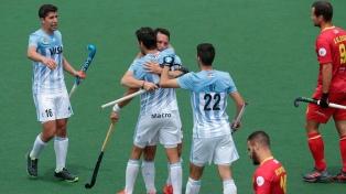 Los Leones reaccionaron y vencieron a España