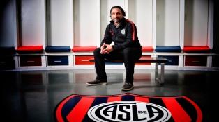 """Pizzi: """"Nuestro objetivo pasa por ganar la Libertadores y la Superliga"""""""
