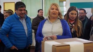"""La gobernadora Bertone denunció """"el robo sistemático de boletas"""""""