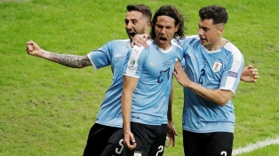 Uruguay arrancó con una goleada ante Ecuador