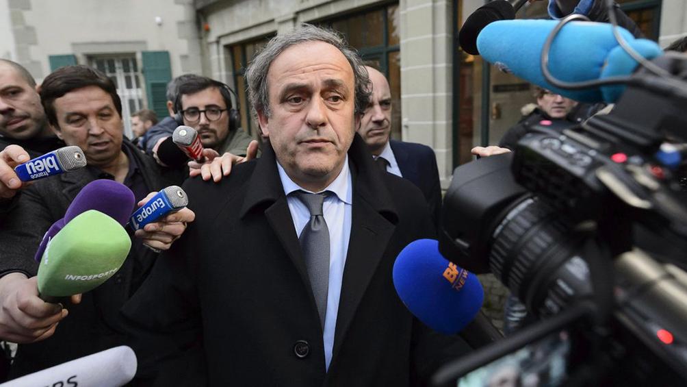Desestiman apelación de Platini por la sanción por corrupción
