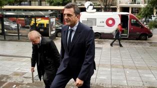 Massa encabezará la lista de diputados y fue criticado por Pichetto y Urtubey