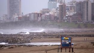 Mar del Plata: segundo día sin clases por el temporal