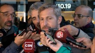 """Frigerio dijo que para Gobierno """"es prioridad retomar el sendero bajista de la presión impositiva"""""""