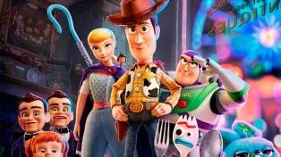 """""""Toy Story 4"""" nuevamente primera en recaudación, superó los 5 millones de tickets"""
