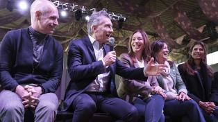Juntos por el Cambio formalizó las candidaturas de Macri, Vidal y Larreta