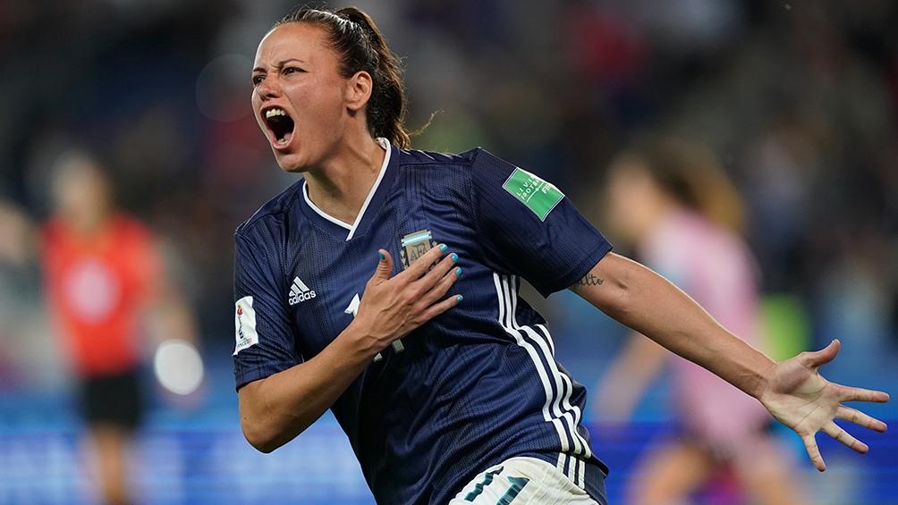 Bonsegundo tuvo un gran campeonato del Mundo en Francia con la selección argentina