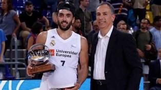 """Campazzo, el MVP de la final: """"Trabajamos para esto"""""""