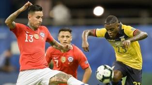 Chile ganó y se clasificó a cuartos de final