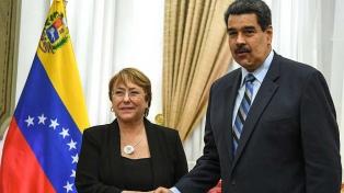 Bachelet alertó que las sanciones aumentan la pobreza y la migración