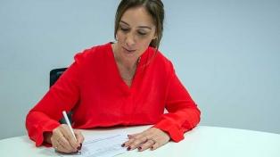 Vidal y Salvador firmaron sus candidaturas para la reelección por Juntos por Cambio en Buenos Aires