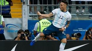 Los goles de Argentina - Venezuela