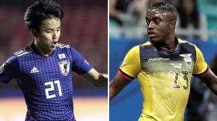 Ecuador y Japón empataron y le dieron la clasificación a Paraguay