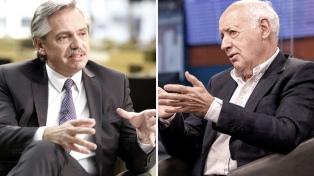 """Lavagna dijo que habló con Fernández, pero """"no por cargos y menos a cambio de apoyo parlamentario"""""""