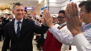 Macri felicitó a empresarios argentinos que exportan a Japón