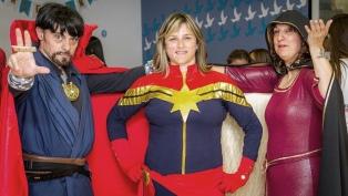 La Capitana Marvel consiguió las drogas para su tratamiento