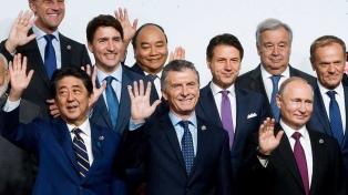 """Macri aseguró en el G20 que la Argentina """"va a consolidar"""" el rumbo elegido """"con más fuerza"""""""