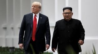 Inesperada invitación de Trump para un contacto con Kim en la frontera de las dos Coreas