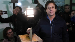 Martínez, Lacalle Pou y Talvi pugnarán en octubre por la presidencia