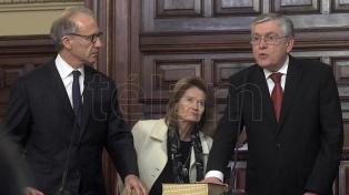 El peronismo garantizó su lugar: juró Mario Pais en reemplazo de Pichetto