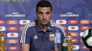 Scaloni planea cinco cambios para enfrentar a Chile por el tercer puesto