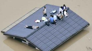 Más de un millón de personas son evacuadas a causa de las fuertes lluvias