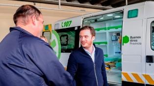 Entregaron ambulancias para mejorar la atención en 19 hospitales bonaerenses