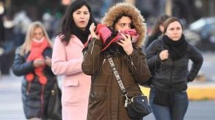 Sensación térmica inferior a 3 grados en algunos puntos de la provincia de Buenos Aires