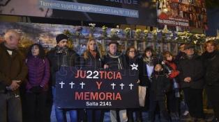 Familiares de víctimas de la explosión de un edificio repudiaron un fallo de la justicia